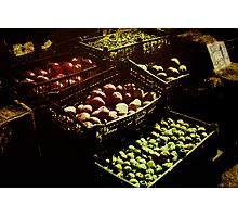 Farmers Market Photographic Print