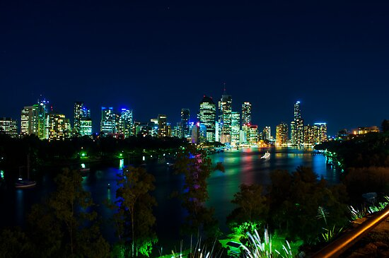 Brisbane City at Night (The Jen Murphy Comedy Edit) by Jack McClane