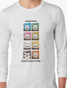 Tentacle Robot T Shirt Long Sleeve T-Shirt