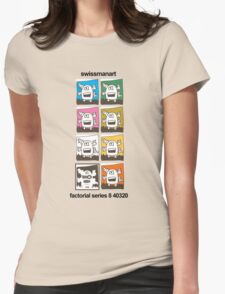 Tentacle Robot T Shirt Womens Fitted T-Shirt
