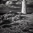 Devonport Lighthouse (IR) by John Conway