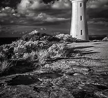 Devonport Lighthouse (IR) by John Conway