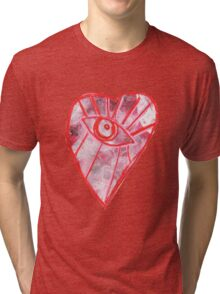 Open Heart Tri-blend T-Shirt
