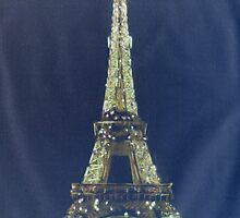 Eiffel Tower Negative by Peter Brandt