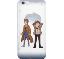 Who Times Two Case iPhone Case/Skin