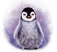 Penguin - Digital Painting by Tom Lopez by Tom Lopez