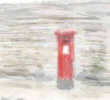 Post Box - Watercolour Efect by Glen Allen