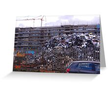 Parking for 4000 Cars Greeting Card