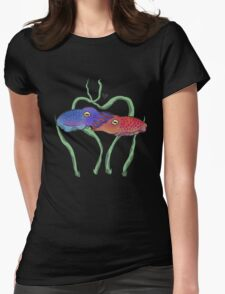 """Cuddlefish"" Womens Fitted T-Shirt"