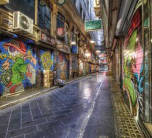 Centre Place, Melbourne by ajhaysom