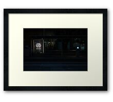 CCTV or not TV? Framed Print