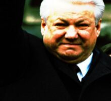 Boris Yeltsin think different Sticker