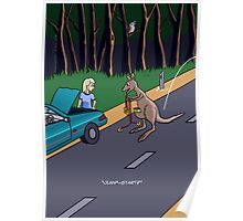 Kangaroo Jump-start Poster