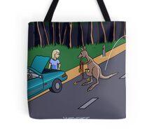 Kangaroo Jump-start Tote Bag
