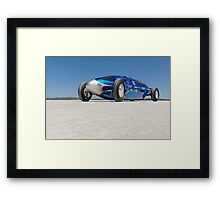 Blue Bellytank 1 Framed Print