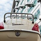 Vespa in Berlin by James Taylor