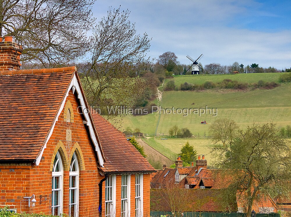 Turville - A Much Used Film Location - 1 by Colin  Williams Photography