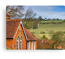Turville - A Much Used Film Location - 1 Canvas Print