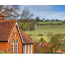 Turville - A Much Used Film Location - 1 Photographic Print