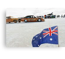 Bronze Aussie Holden Canvas Print