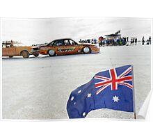 Bronze Aussie Holden Poster