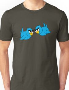 Angry Twitter Birds Unisex T-Shirt