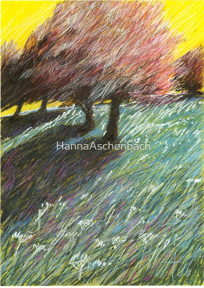 Pfirsichbaum by HannaAschenbach