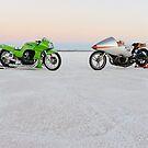 Kawasaki Z1000 and Suzuki GT 750 1 by Frank Kletschkus