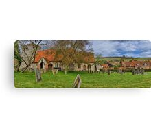 Turville - A Much Used Film Location - 2 Canvas Print