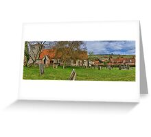 Turville - A Much Used Film Location - 2 Greeting Card
