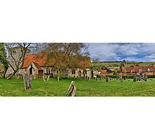 Turville - A Much Used Film Location - 2 Photographic Print