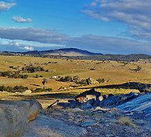 Rock Monument, Nulla Vale by Kylie Mckay