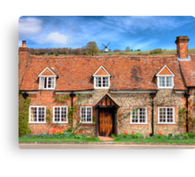 Turville - A Much Used Film Location - 3 Canvas Print