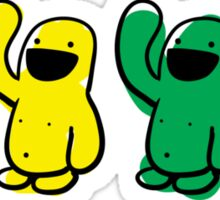 4 kinds of Happy Sticker