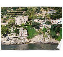 Amalfi Coast 0654 Poster