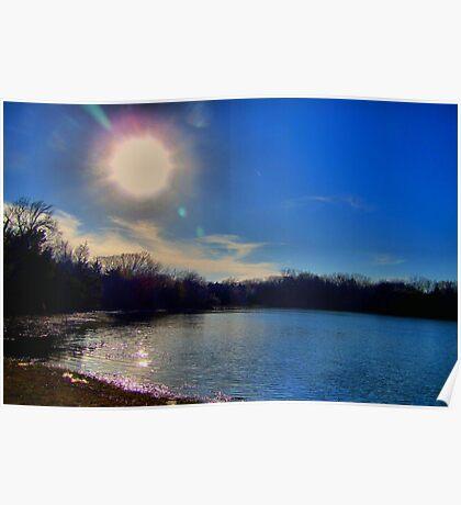 Lake Pickens, Sherman, Texas, USA Poster