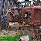 Old tractor by Penny Rinker