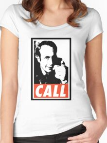 CALL Saul Women's Fitted Scoop T-Shirt