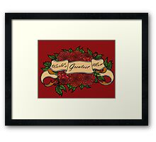 Mothers Day Roses Framed Print