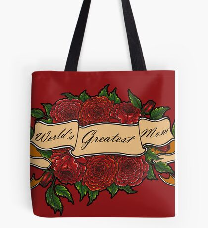 Mothers Day Roses Tote Bag