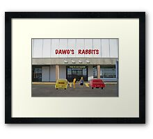 As improbable as it sounds I've heard this is a hangover cure--I'm going to buy one and find out! Framed Print