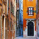 Courtyard, Venice. by Irina Chuckowree