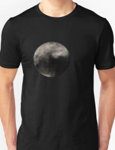 Cloudy Full Moon T-Shirt
