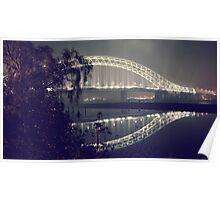 The Silver Jubilee Bridge Poster