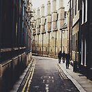 Cambridge Back Alleys  by Tom Cadrin