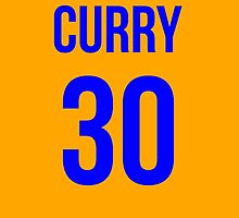 STEPH CURRY BLUE 30 by SourKid