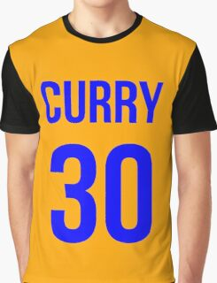 STEPH CURRY BLUE 30 Graphic T-Shirt