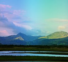 Welsh mountains by Designer023