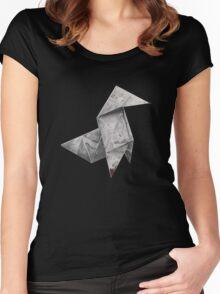 Heavy Rain Women's Fitted Scoop T-Shirt