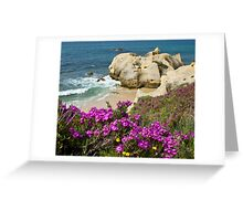 Wild on the Cliffs  Greeting Card